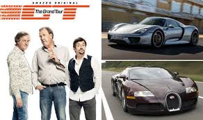 bugatti vs the grand tour episode 13 bugatti veyron porsche 918 spyder