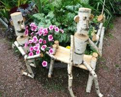 85 stumperies recycling wood and creating beautiful garden decorations