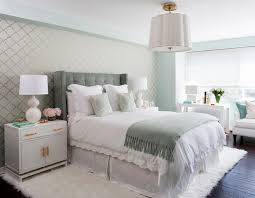 White Bedroom Gold Accents A 30 Year Old Condo Gets A Fashion Forward Makeover Rue Home