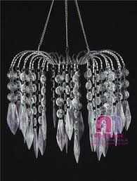 How To Decorate A Chandelier With Beads Acrylic Bead Hanging Chandelier Wedding Decoration Chandelier