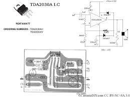 f d home theater system tda2030a amplifier circuit used in home theaters circuits diy