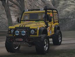 defender land rover off road land rover defender 90 add on replace gta5 mods com