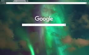 google themes lights free northern lights hd google chrome theme download