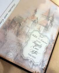 Shabby Chic Wedding Guest Book by Once Upon A Time Fairy Tale Castle Wedding Guest Book In Winter