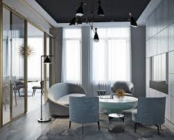 inspiring flat in moscow with a luxury mid century design this flat in moscow is a luxury mid century design paradise 1 mid century design