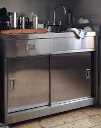 Metal Kitchen Sink Cabinet Unit Stainless Steel Sink Unit With Cupboard Tower House