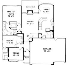 house plans for narrow lots with garage plan 1424 3 bedroom narrow lot ranch w 3 car garage home