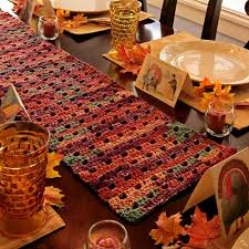 thanksgiving table runner bmpath furniture