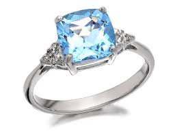 silver diamond rings my diamonds silver blue topaz and diamond ring d9927 f hinds