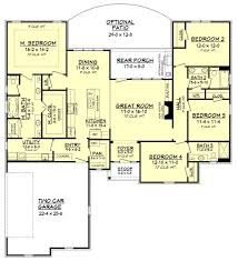 traditional style house plan 4 beds 3 00 baths 2160 sq ft plan