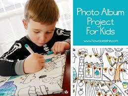 kids photo album photo album project for kids 1 jpg