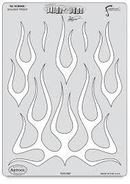 flame o rama ol u0027 template airbrushing pinterest