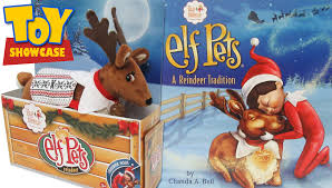on the shelf reindeer pets reindeer and story book from on the shelf a