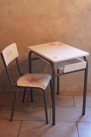 bureau gris blanc ensemble bureau et chaise d écolier vintage gris blanc et