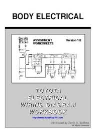 toyota electrical wiring diagram automotive training and by