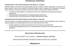 Child Care Assistant Resume Sample by Director Of Operations Cover Letter Assistant Operations Manager