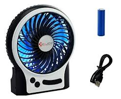 battery operated desk fan amazon com security personal table fan usb or battery operated