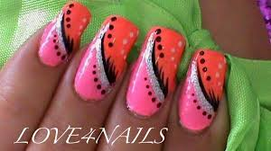 simple abstract nail art design how to do a stripe design with