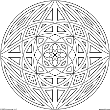 coloring pages geometric designs colouring pages geometric