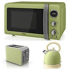 The Matching Kettle Toaster And Microwave Set