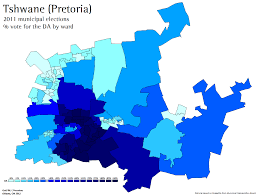 Pretoria South Africa Map by South African Election Maps And Stats