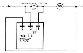 hvac lockout relay wiring diagram standard relay diagram