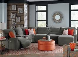 fabric sectional sofas with chaise glamorous fabric sectional sofa with recliner 39 for sectional sofa