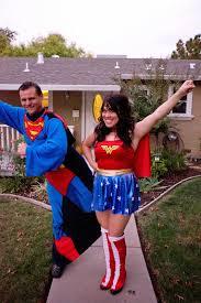 Halloween Costume Woman Domestic Fashionista Superman Woman Couple U0027s