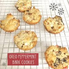 holiday leftovers oreo peppermint bark cookies revenge bakery