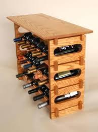 wine rack tabletop wood wine rack small end table wine rack