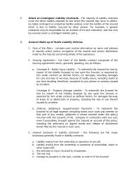 no liability contract template llc operating agreement sample