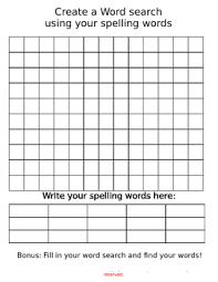 make own word search create your own word search by fun with mrs alvarez tpt