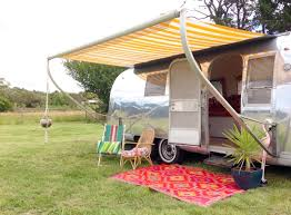 Vintage Trailer Awning This Retro Airstream Will Change Your Vacation Forever Rvshare Com