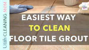 The Best Way To Clean Grout On Tile Floors With Easiest Floor