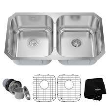 mr direct kitchen sinks reviews kraus undermount stainless steel 31 in double bowl kitchen sink