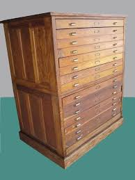 flat file cabinet wood flat file cabinet antique wood 15 drawers art plan map blueprint