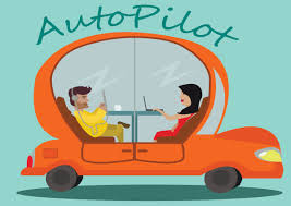 cartoon car back autonomous vehicles what taking a back seat means for insurance