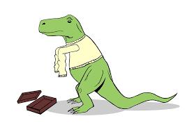 Unstoppable Dinosaur Meme - t rex s new sweater t rex s short arms know your meme