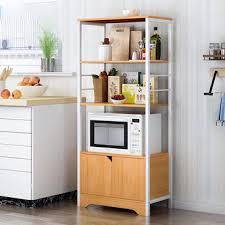 kitchen storage cabinet rack kitchen storage cabinet microwave dishes utensils 3 shelf 4 shelves rack