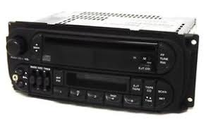 dodge durango stereo 2001 dodge durango radio am fm cass cd player w aux input
