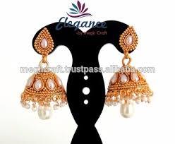 bridal jhumka earrings indian ethnic jhumka earrings bridal jhumka earrings wholesale