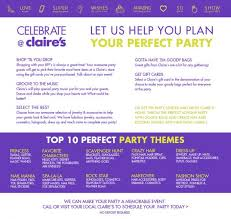 claires gift card celebrate at s hshire mall