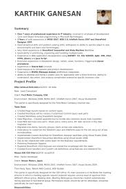 Sharepoint Resume Examples by Lead Consultant Resume Samples Visualcv Resume Samples Database