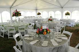 table and chair rentals in md eastern shore tents and events event rentals chestertown md