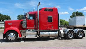 w900 1998 kenworth w900 semi truck item j1147 sold october 2