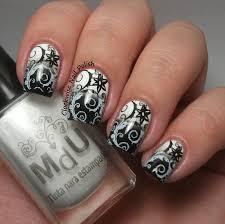 black white nail polish designs images nail art designs