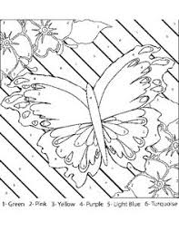 color number coloring pages cool letter