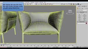 3dsmax export to sketchup tutorial youtube