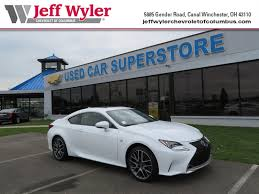 lexus rc used for sale used 2015 lexus rc 350 for sale springfield oh
