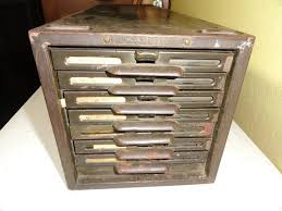 Vintage Industrial File Cabinet Index Card File Cabinet Portofinos Us